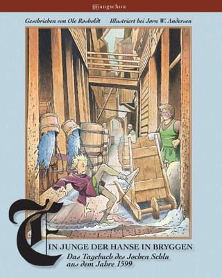 Ein Junge der Hanse in Bryggen